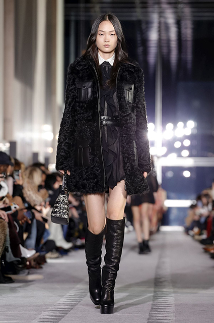Неделя моды в Нью-Йорке: Кендалл Дженнер, Кейт Мосс и Кайя Гербер на показе Longchamp сезона осень/зима-2019/2020