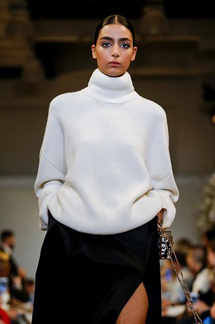 Неделя моды в Нью-Йорке: Белла Хадид, Эшли Грэм и другие на показе Brandon Maxwell сезона осень/зима 2019/2020