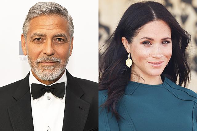 Джордж Клуни защитил Меган Маркл от нападок хейтеров и сравнил ее с принцессой Дианой