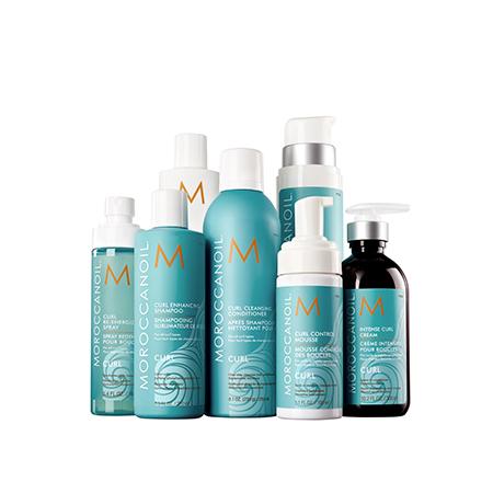 Гамма для кудрявых волос Moroccanoil Curl Collection
