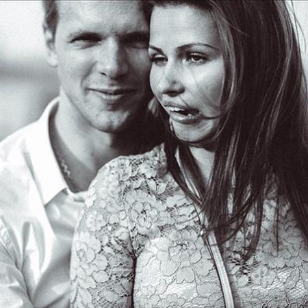 Юлия Топольницкая с супругом Игорем Чеховым