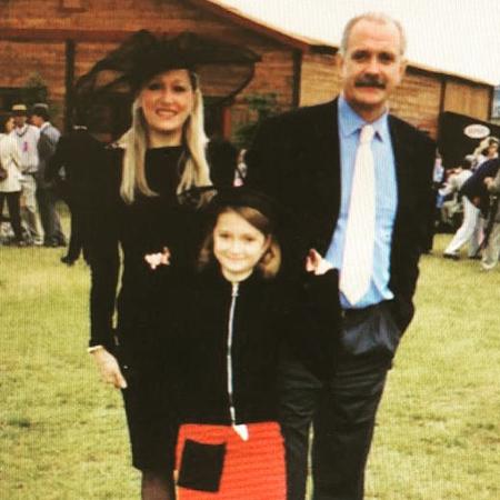 Татьяна и Никита Михалковы с дочерью Надей