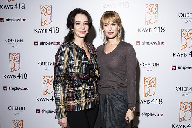 Ирина Кудрина и Олеся Судзиловская