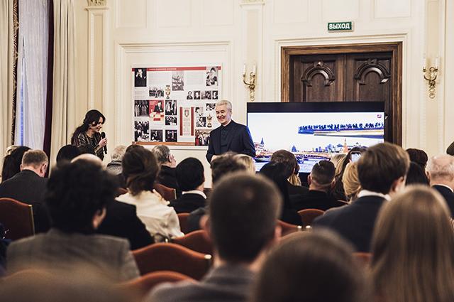 Ирина Кудрина и Сергей Собянин