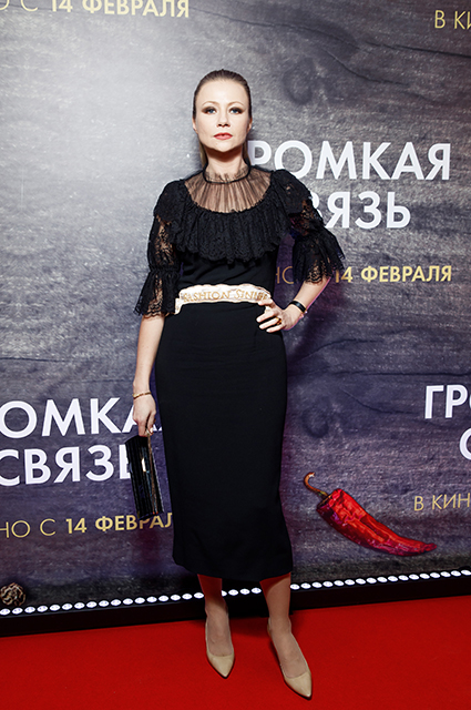 Надежда Оболенцева и Резо Гигинеишвили, Мария Миронова и другие на премьере фильма