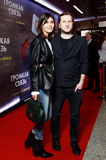 Надежда Оболенцева и Резо Гигинеишвили