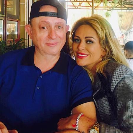 Юлия Началова с отцом Виктором
