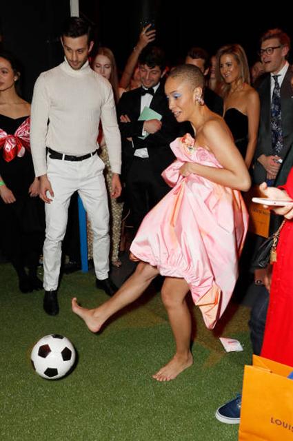Бруклин Бекхэм и Хана Кросс, Тилан Блондо и другие на благотворительном вечере Натальи Водяновой
