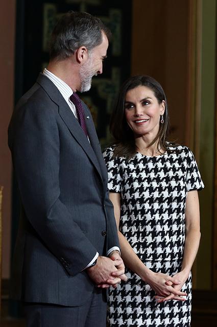 Король Испании Филипп VI и королева Испании Летиция