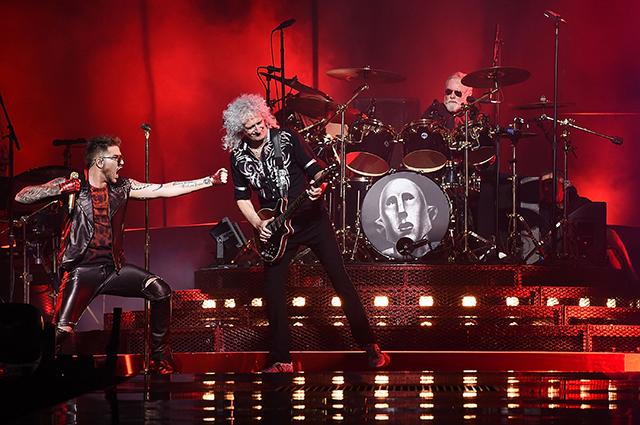 Адам Ламберт и группа Queen