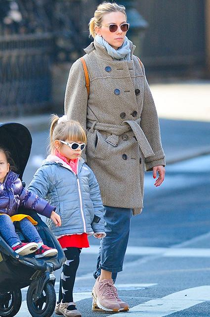 Скарлетт Йоханссон с дочерью Роуз