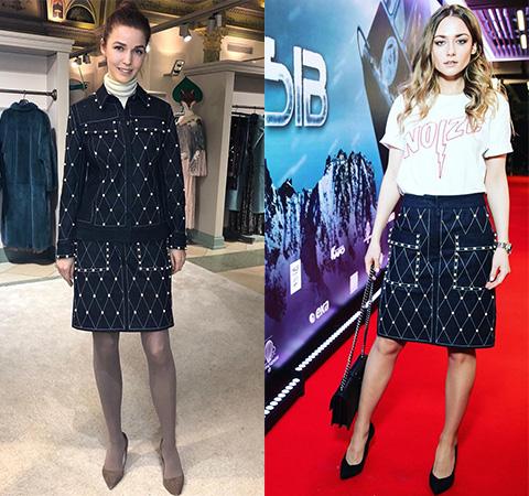 Модная битва: Алена Ахмадуллина против Ингрид Олеринской