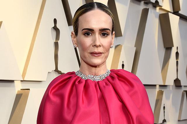 Оскар-2019: Сара Полсон на красной дорожке