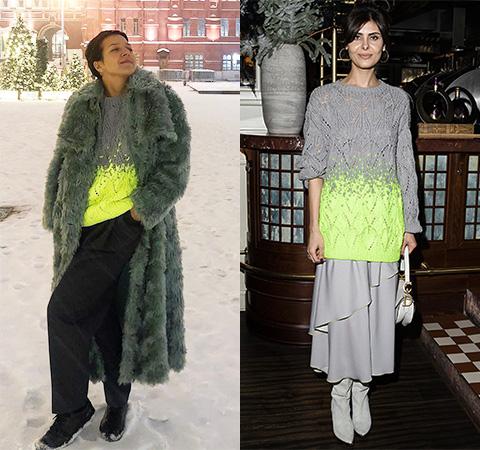 Модная битва: Ксения Чилингарова против Надежды Оболенцевой