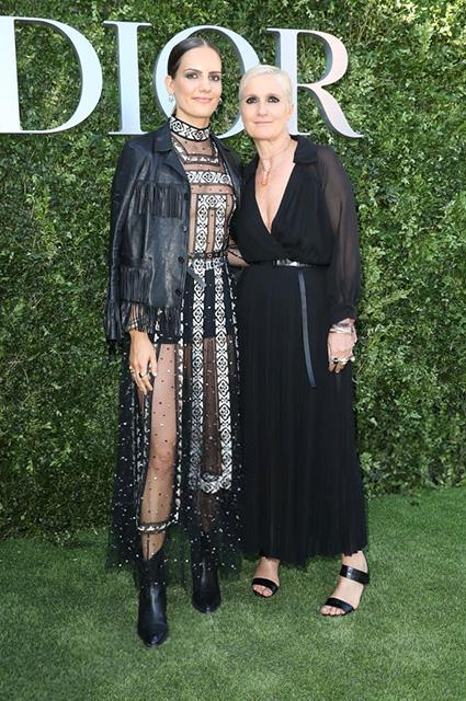 Рэйчел Регини с мамой Марией Грацией Кьюри