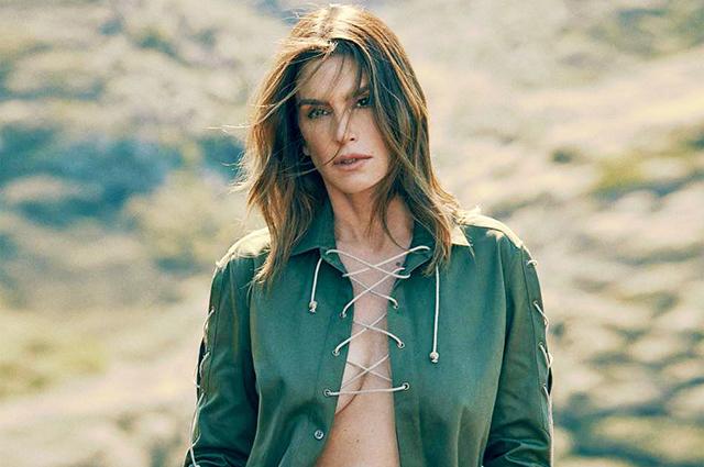 Синди Кроуфорд о съемках в Playboy и успехе дочери Кайи Гербер