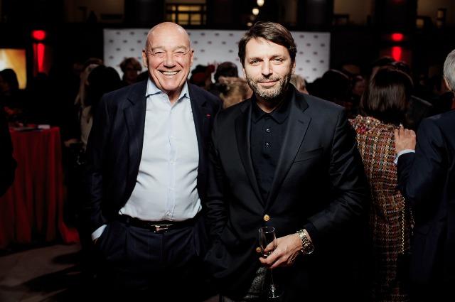 Владимир Познер и Николай Усков