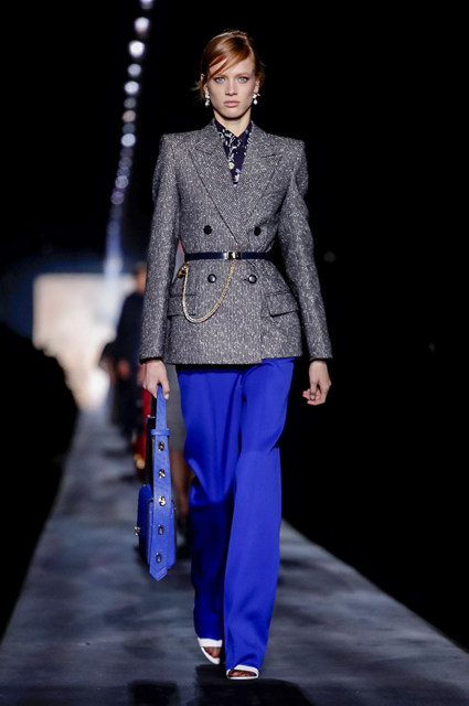Неделя моды в Париже: Розамунд Пайк, Галь Гадот, Аманда Лир на показе Givenchy осень-зима 2019/2020