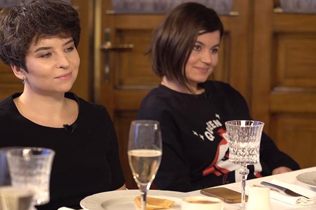 Анастасия Красильникова и Залина Маршенкулова