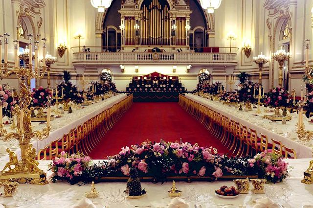 Гала-ужин в Букингемском дворце