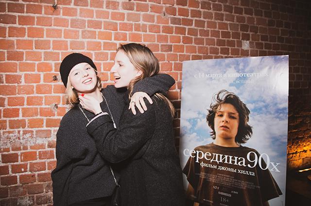 Александра Бортич и Полина Виторган