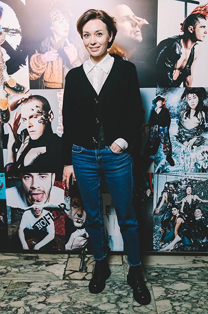 Виктория Толстоганова, Мария Шумакова, Диана Арбенина и другие на премьере фильма «Вокс люкс»