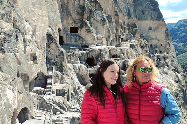 Елена Батурина с дочерью Еленой