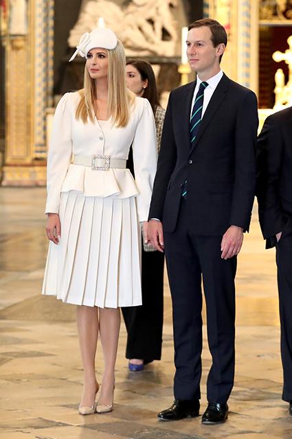 Иванка Трамп и Джаред Кушнер