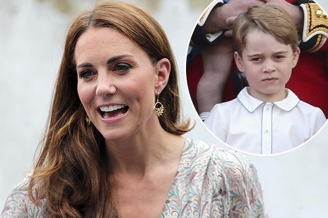 Кейт Миддлтон рассказала, как принц Джордж играл в теннис с Роджером Федерером