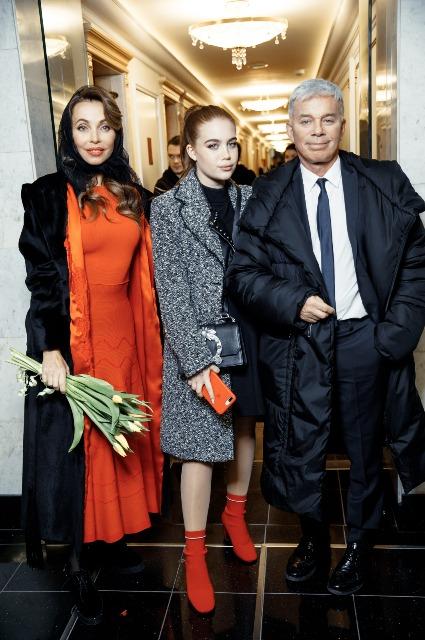 Кристина Орбакайте, Наталья Ионова и другие на шоу Валентина Юдашкина в Кремле