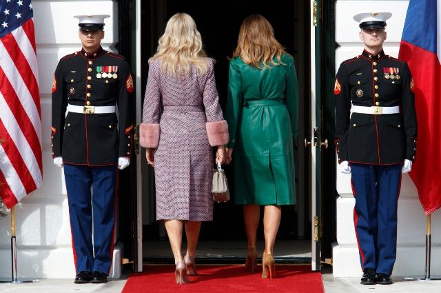 Мелания Трамп вручила премию Women of Courage