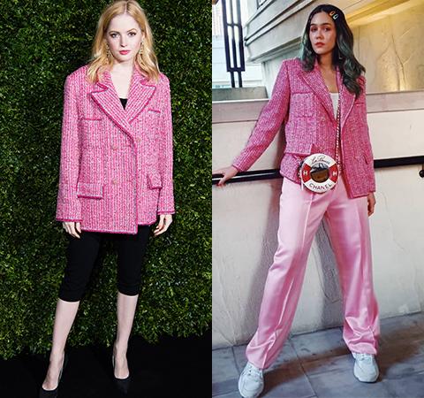 Модная битва: Элли Бамбер против Арайи Харгейт