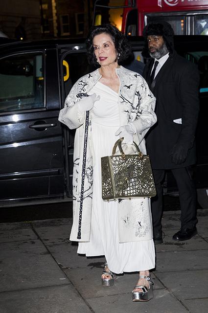 Дэвид и Виктория Бекхэм, Кейт Мосс и другие на благотворительном вечере в Национальной портретной галерее Лондона