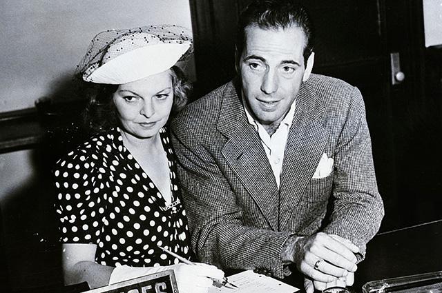 Майо Мето и Хамфри Богарт