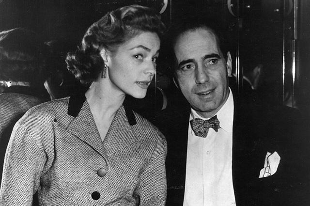 Лорен Бэколл и Хамфри Богарт