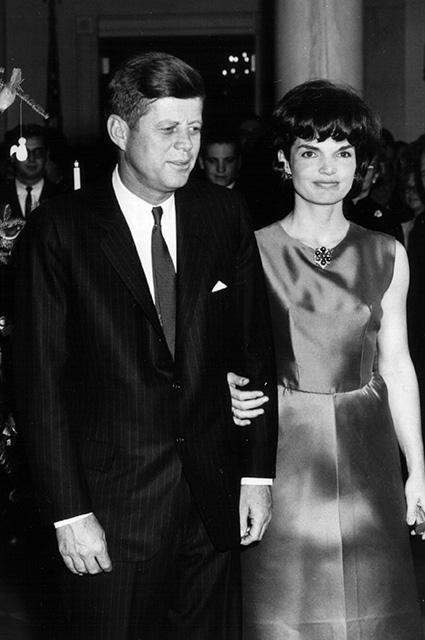 Джон Ф. Кеннеди с супругой Джекки