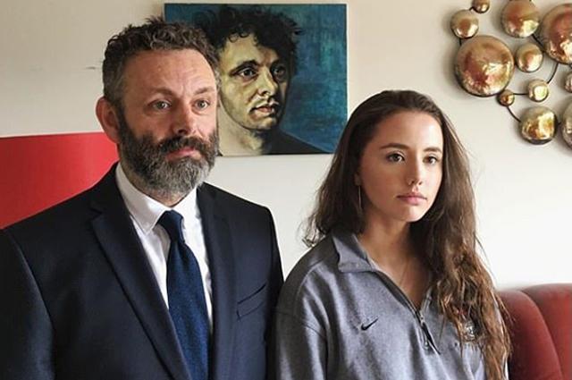 Майкл Шин с дочкой Лилли Мо