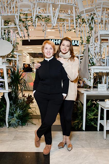 Катерина Шпица с мамой
