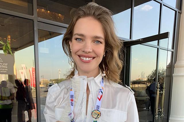 Наталья Водянова посетила открытие Специальной Олимпиады в Абу-Даби