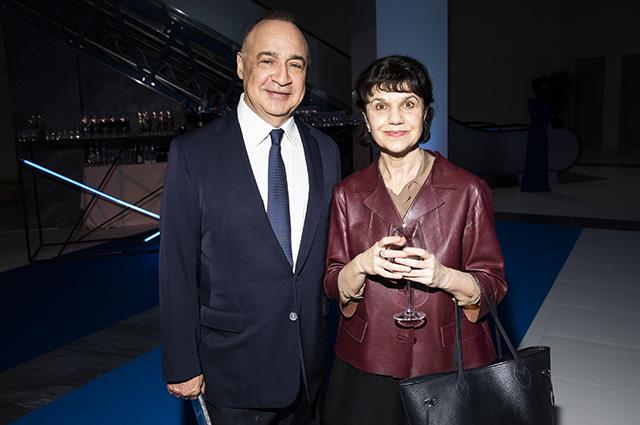 Леонард Блаватник и Марина Лошак