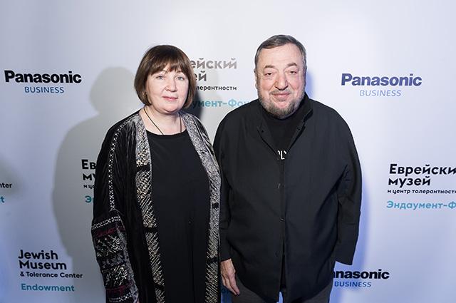 Елена и Павел Лунгины