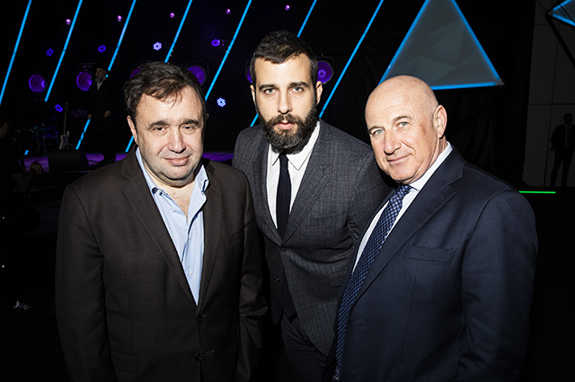 Александр Раппопорт, Иван Ургант и Марк Гарбер