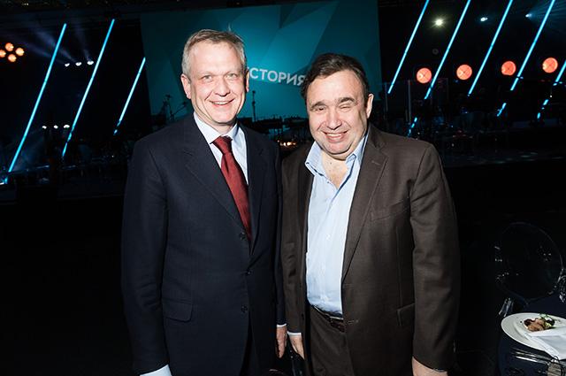 Сергей Капков и Александр Раппопорт