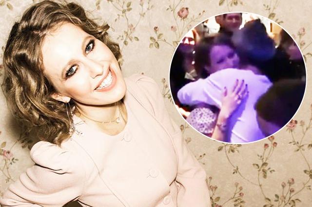 Константин Богомолов посвятил Ксении Собчак песню и закружил ее в нежном танце: видео