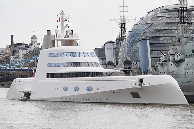 Моторная яхта А