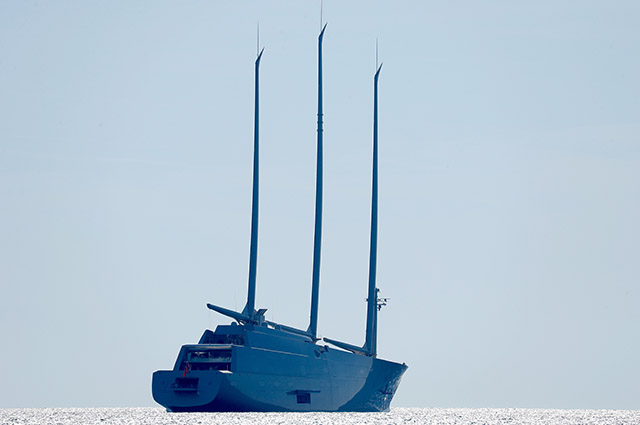 Парусная яхта А