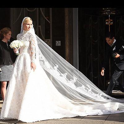 Падающие кольца и горящие платья: 15 курьезов на звездных свадьбах