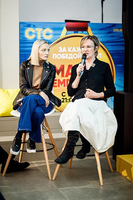 Екатерина Вилкова и Ирина Розанова