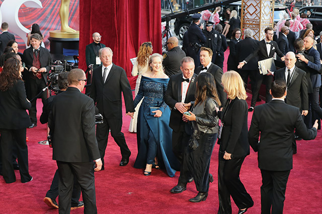 "Мерил Стрип на ""Оскаре"" в 2017 году"
