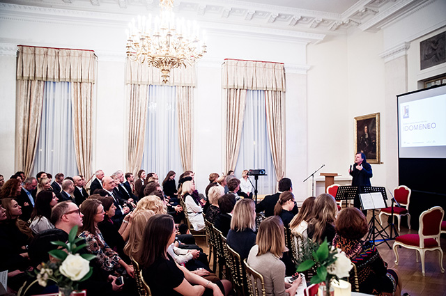 Ирина Чайковская, Полина Аскери, Оксана Бондаренко и другие на гала-вечере в посольстве Австрии в Москве